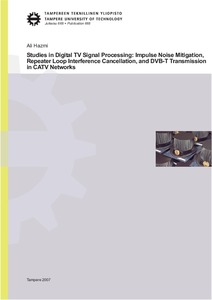 Studies in digital TV signal processing impulse noise