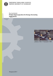 Printed Supercapacitors for Energy Harvesting Applications